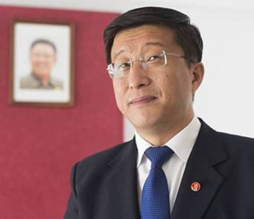 Former North Korean ambassador to Spain, Kim Hyok Chol, in a file photo from 2015.