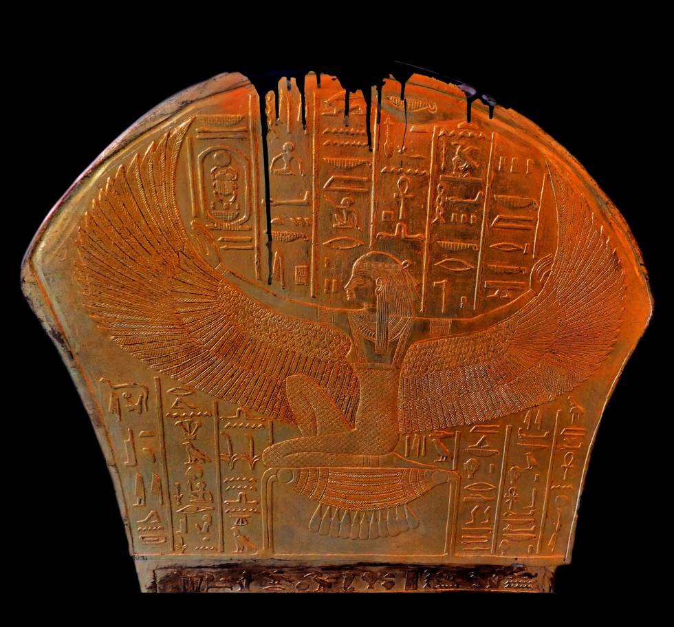 A deusa egípcia Maat.