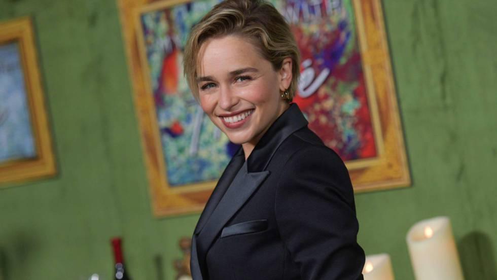 A atriz Emilia Clarke na estreia de 'My Dinner With Herve', em Los Angeles, em outubro passado. Em vídeo, o trailer da última temporada de 'Game of Thrones' (legendas em espanhol).