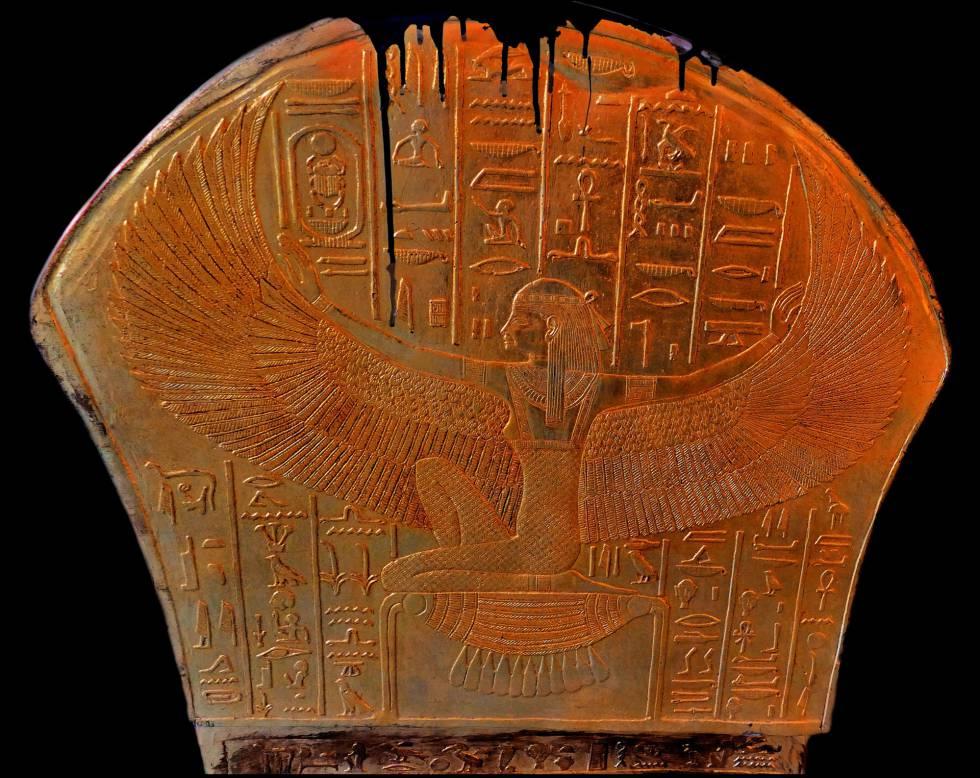 La diosa Maat, hija del dios Ra, encarna el código moral de los primeros egipcios.