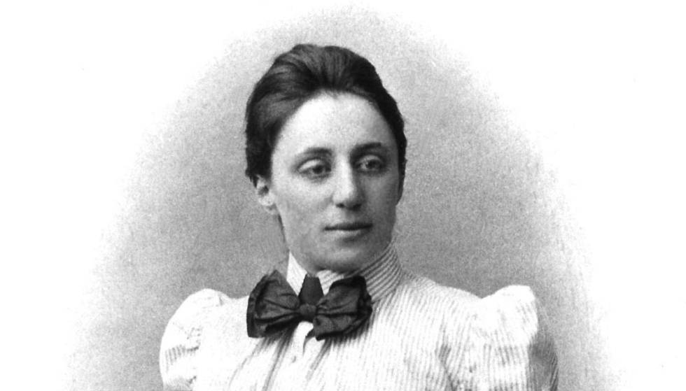 La matemática Emmy Noether.