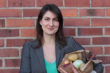 La fundadora de Foodloopz, Elin Aronsen Beis.