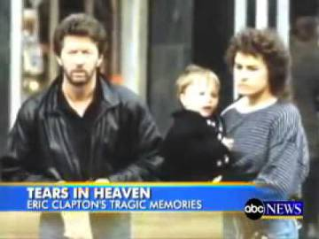 La cadena estadounidense ABC ofrece un reportaje sobre la famosa canción y lo ilustra con una imagen de Eric Clapton, Lory Del Santo y Conor.