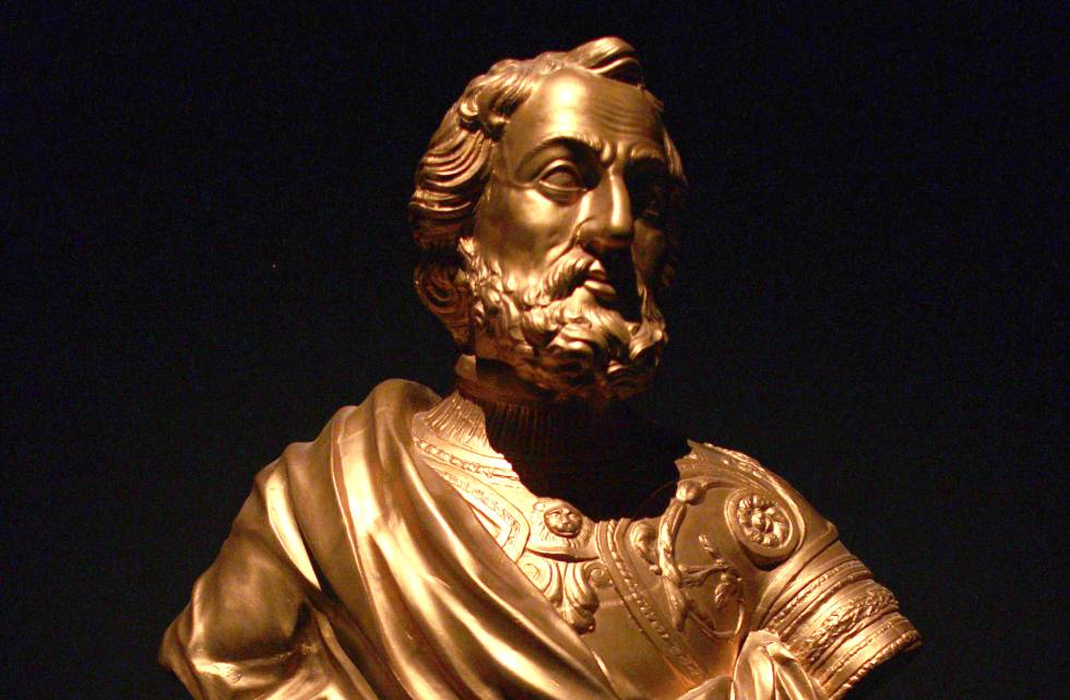 Busto de Hernán Cortés