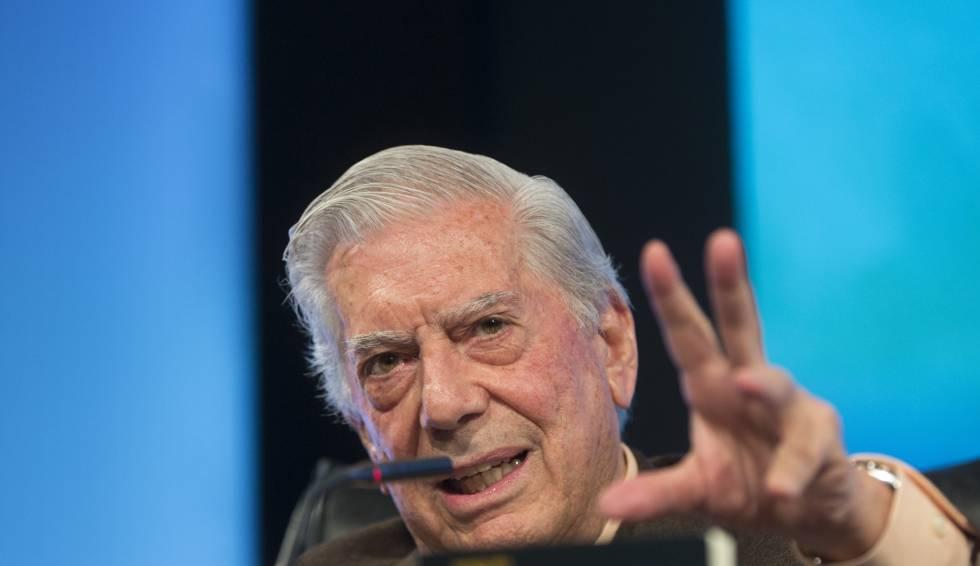 Mario Vargas Llosa, en el Congreso Internacional de la Lengua Española en Argentina.