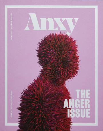 Capa da revista 'Anxy' sobre a raiva
