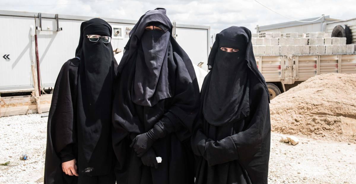The three Jihadist women who want to return to Spain. d8c5b2aafc4