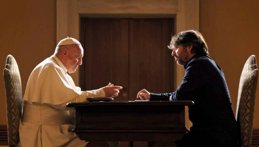 El Papa Francisco durante su entrevista con Jordi Évole.