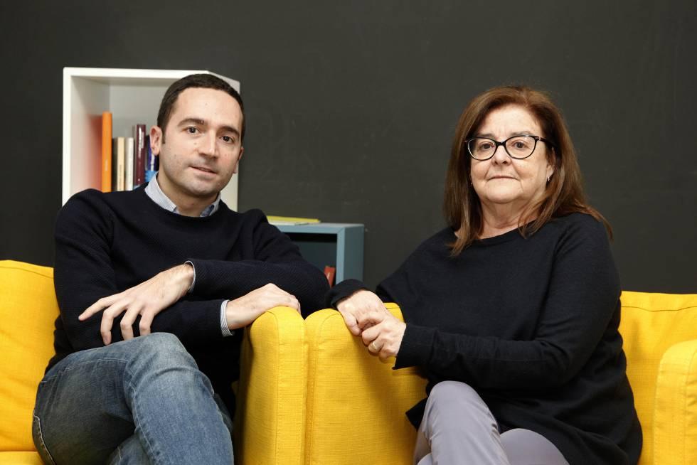 El biólogo Nuno Costa-Borges y la embrióloga Gloria Calderón.