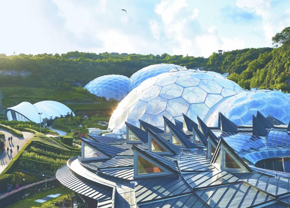 Eden project, de Nicholas Grimshaw.