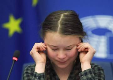 La joven activista emociona a los eurodiputados con su discurso en Estrasburgo