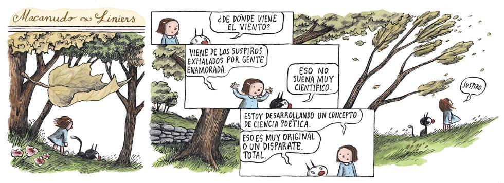Liniers, en El País, 28/04/2019