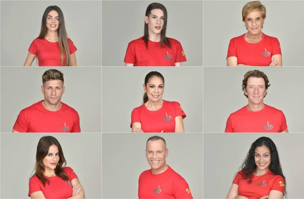 Concursantes Supervivientes 2019