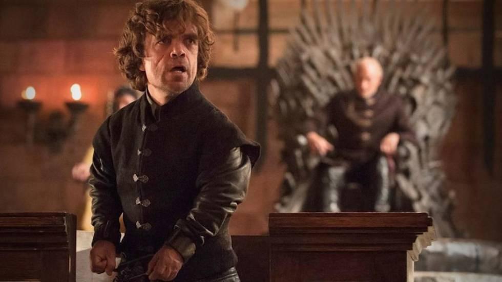 El actor interpretando a Tyrion Lannister, el personaje de 'Juego de tronos' que le ha convertido en una celebridad.