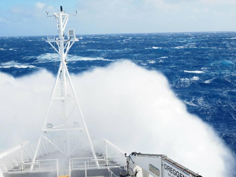 La relación entre el viento y el mar es cada vez más violenta