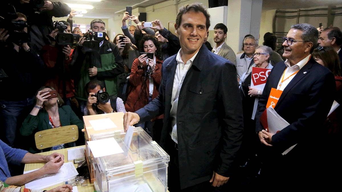 73bfb69ef84 Spain s political leaders cast their votes on Sunday.