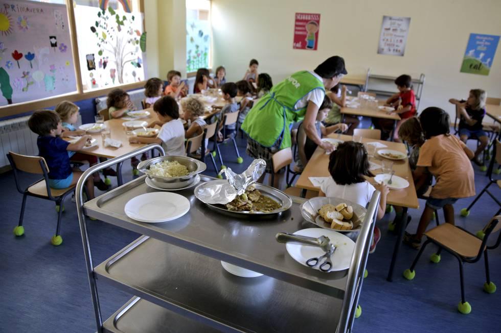 Te gusta el comedor escolar de tu hijo? | Mamás y Papás | EL PAÍS
