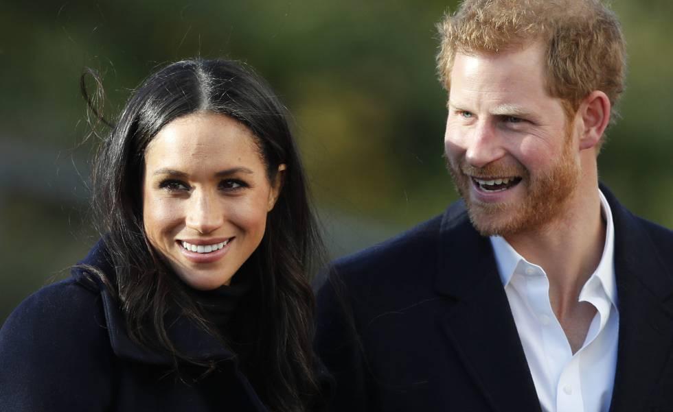 El príncipe Enrique y Meghan Markle.