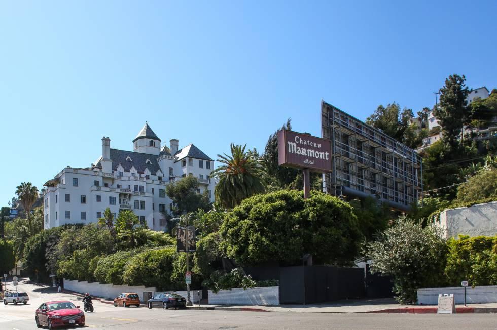 El hotel Marmont, en Los Ángeles.