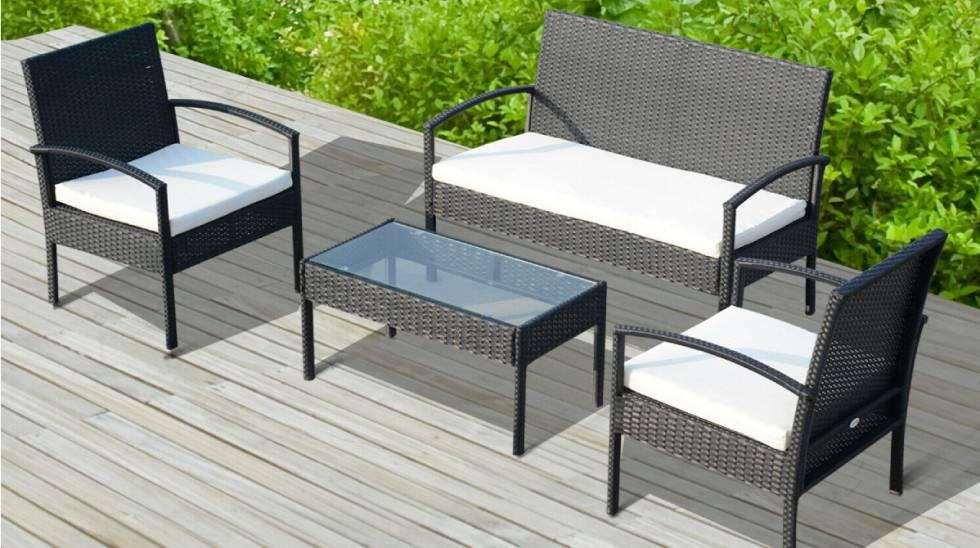 C mo decorar la terraza o jard n con muebles bonitos y for Muebles bonitos y baratos