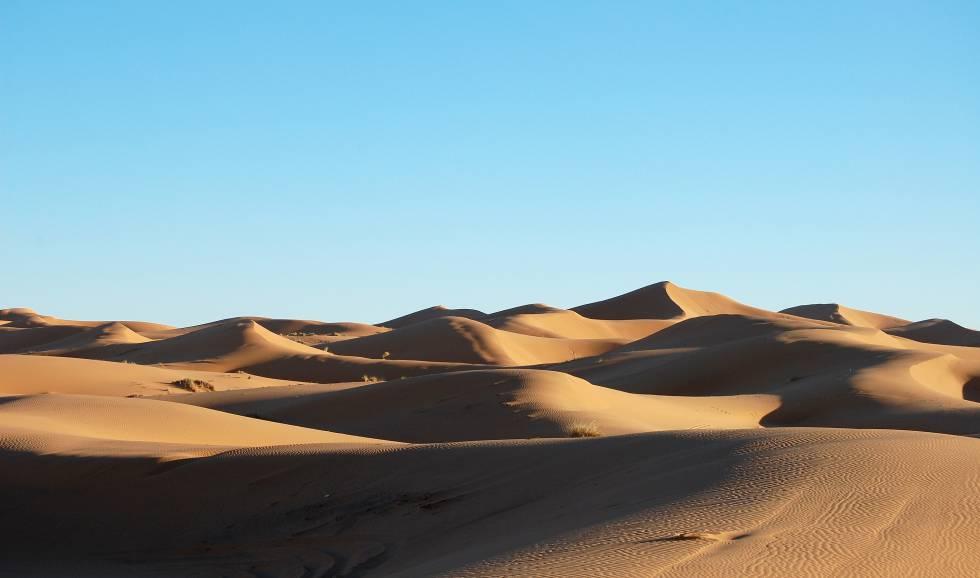 Desierto del Sáhara.
