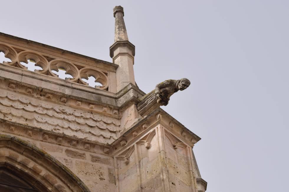 El fotógrafo de la catedral de Palencia.