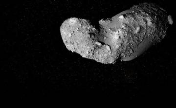 Imagen del asteroide Itokawa