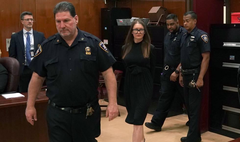 Anna Delvey el pasado día 9 en la Corte Suprema de Manhattan donde fue juzgada.