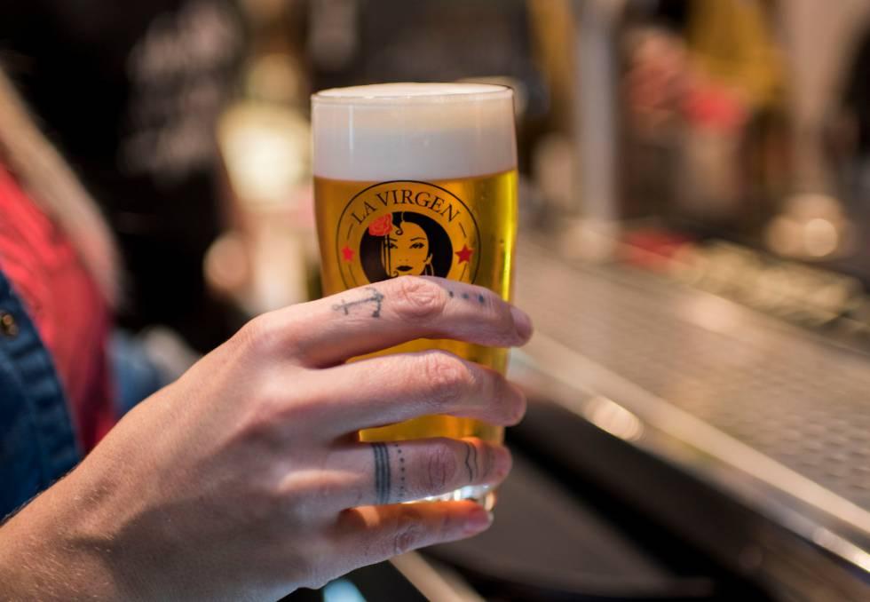 La Virgen: la única cerveza que se vende… a través del teletexto
