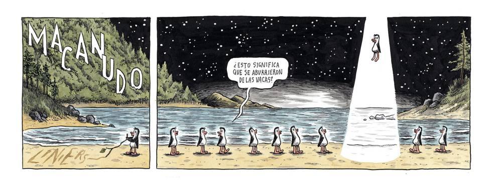 Liniers, en El País, 26/05/2019
