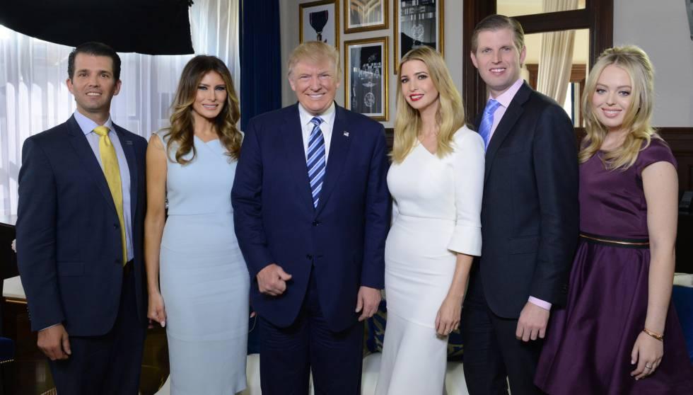 Dos años de los Trump: así ha cambiado la Casa Blanca a la familia  presidencial | Gente y Famosos | EL PAÍS