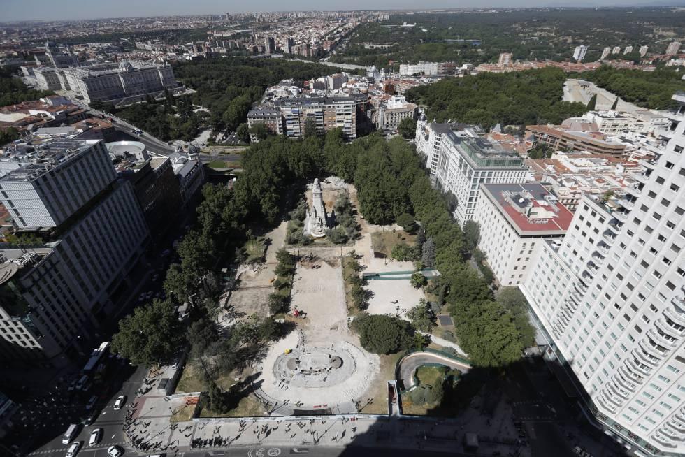 Fotos La Azotea Del Edificio España Las Nuevas Vistas De