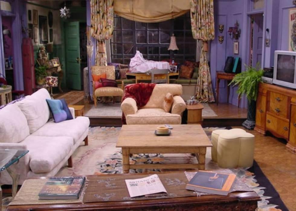 Así quedarían el salón de \'Friends\' o el de \'Los Simpson ...