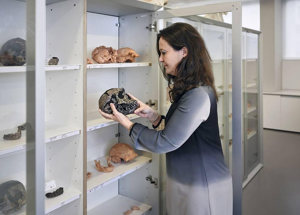 María Martinón-Torres, médica, paleoantropóloga y directora del CENIEH.