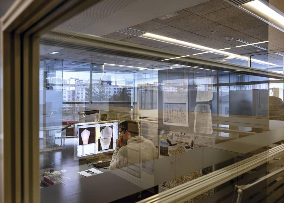 Instalaciones del CENIEH, en Burgos.