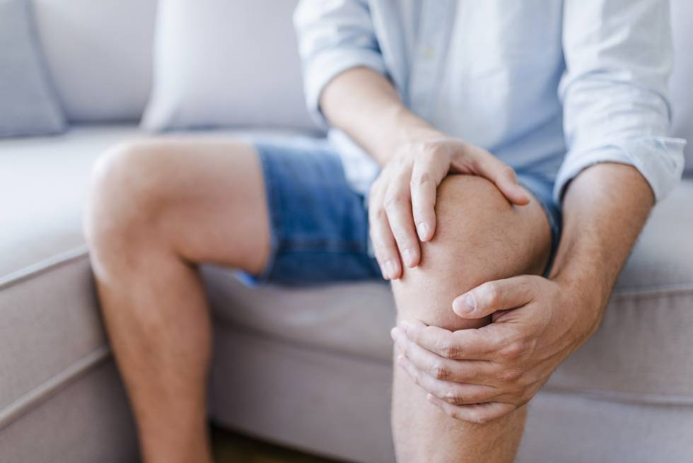 Para dolor de rodilla en ingles