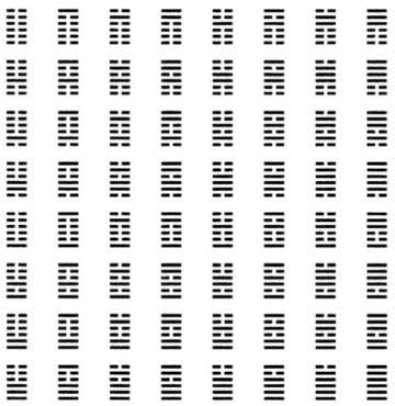 'I Ching' binario
