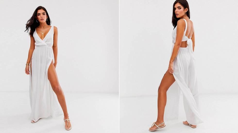 Vestidos Blancos Para Llevar A La Playa O Para Vestirte De