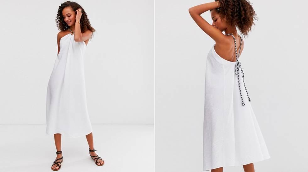 e700b5f03a72 Vestidos blancos para llevar a la playa o para vestirte de novia por ...