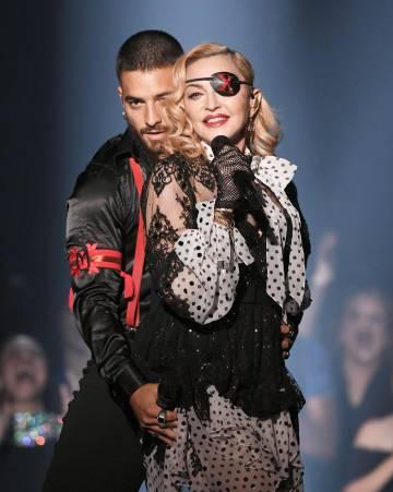 Maluma y Madonna en una imagen de su Instagram.