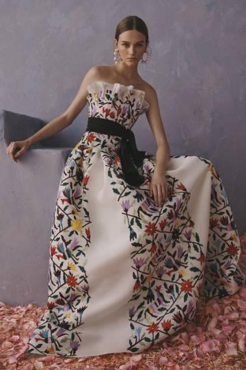 Otro de los vestidos de la colección de CH.