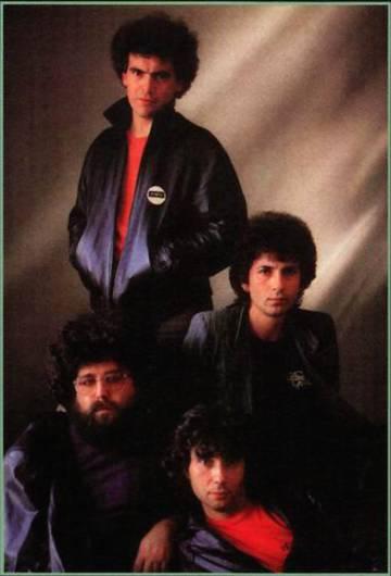 La formación de Topo que grabó 'Marea negra'.