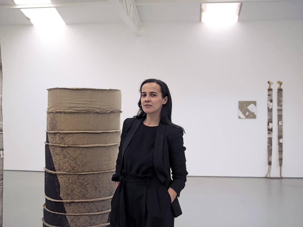 Sabrina Amrani, en su galería.