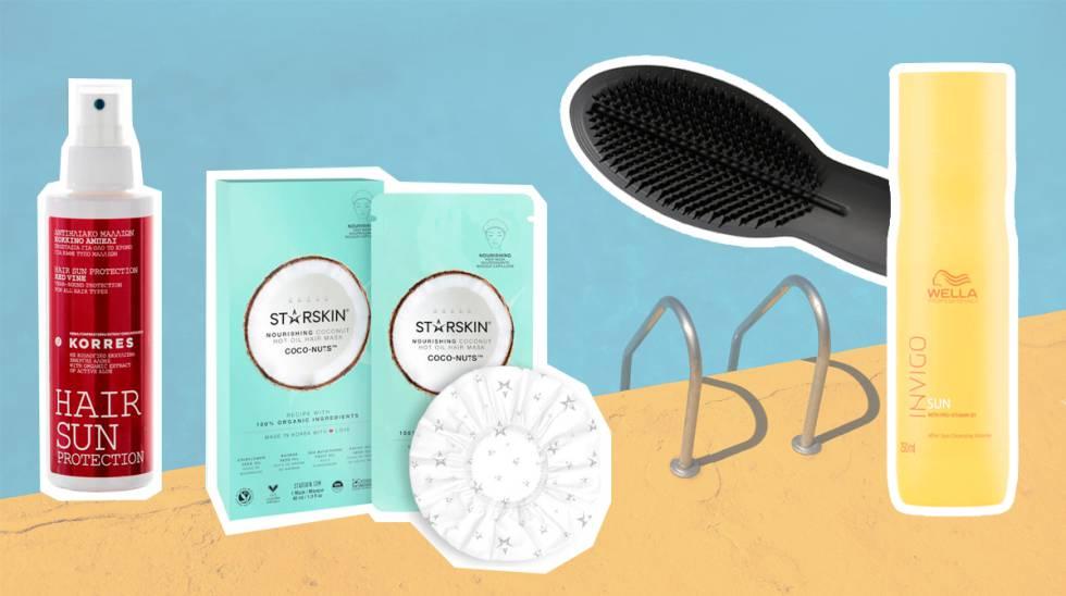 ecbca0ba6cb Estos productos mantendrán tu cabello hidratado y protegido en verano