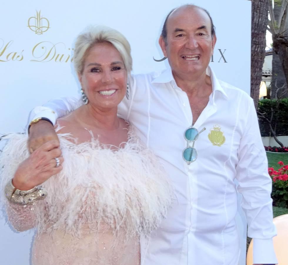 Champán y Carla Bruni para el dueño de Naturhouse