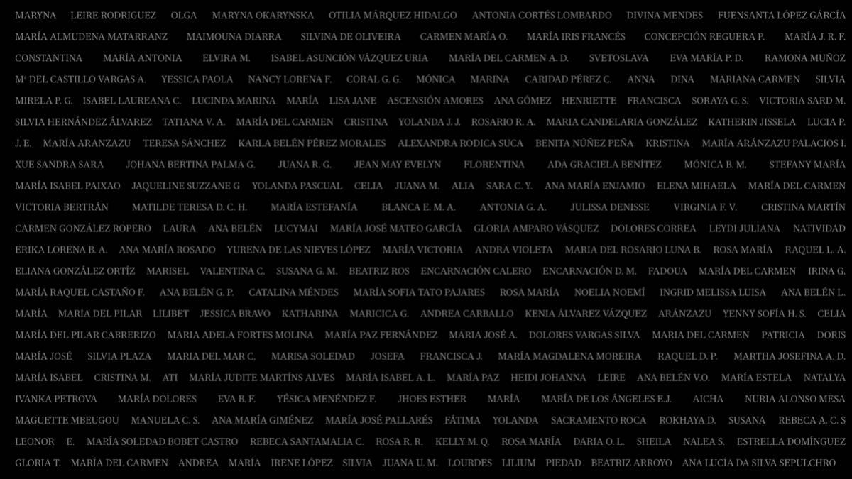 1.000 asesinadas por violencia machista: la cuenta pendiente