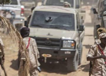 Así resisten las brigadas en Trípoli el avance del gran mariscal