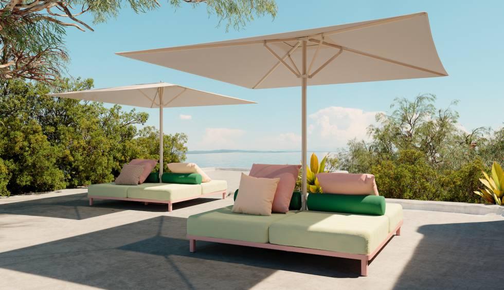 muebles exterior verano