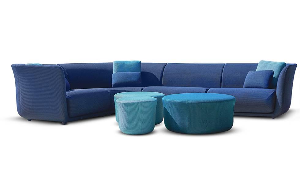Encuentre el nirvana en el sofá modular Suave de Marcel Wanders para Vondom. (c.p.v.). |