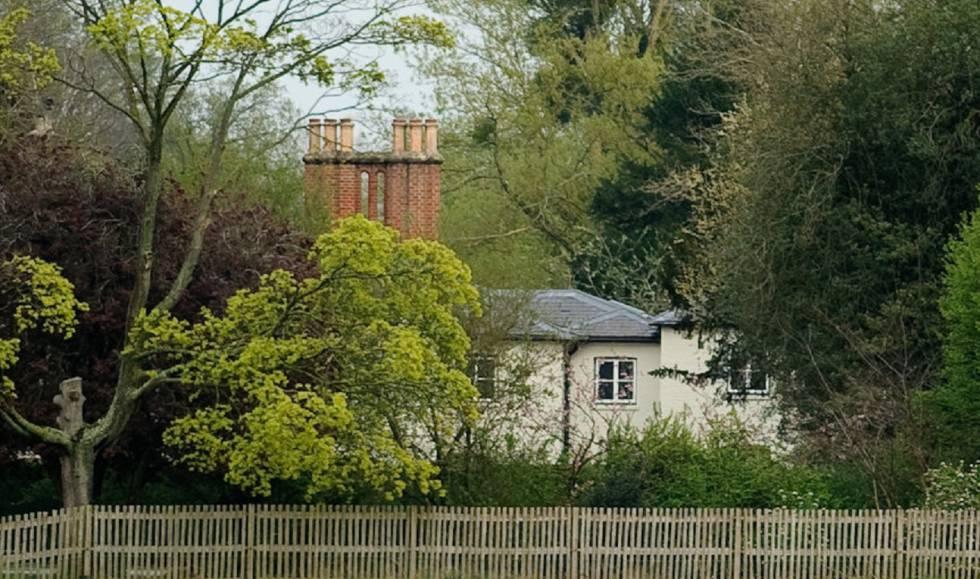 Vista general de Frogmore Cottage, el nuevo hogar de los duques de Sussex en Windsor, captada el pasado mes de abril.